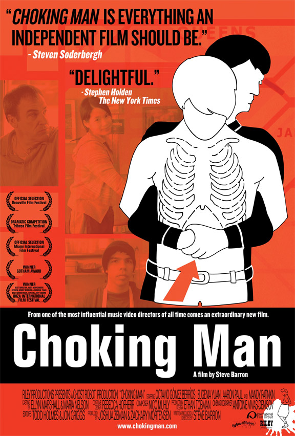 Choking Man Poster #1