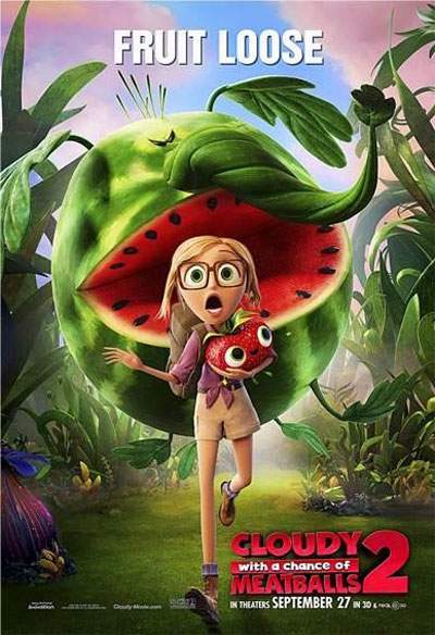 Cloudy with a Chance of Meatballs 2 Poster #4