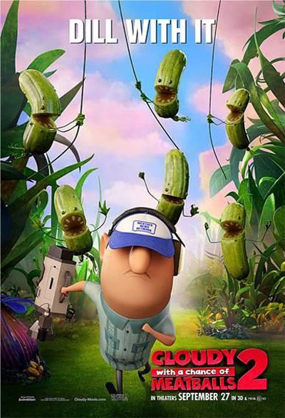 Cloudy with a Chance of Meatballs 2 Poster #5