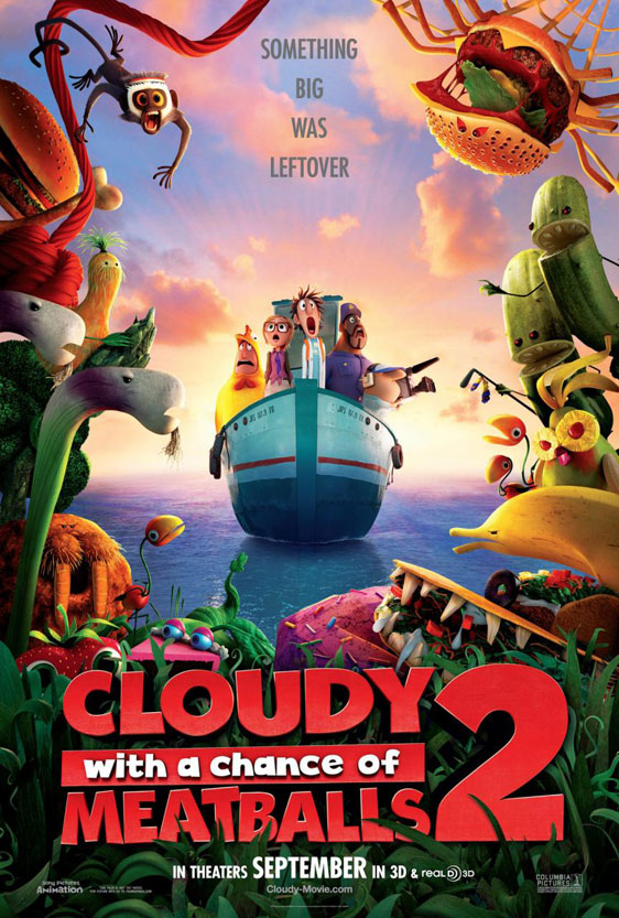 Cloudy with a Chance of Meatballs 2 Poster #1