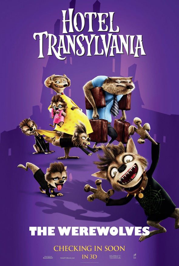 Hotel Transylvania 2012 Poster 1 Trailer Addict