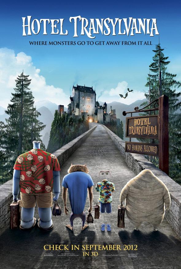 Hotel Transylvania Poster #1