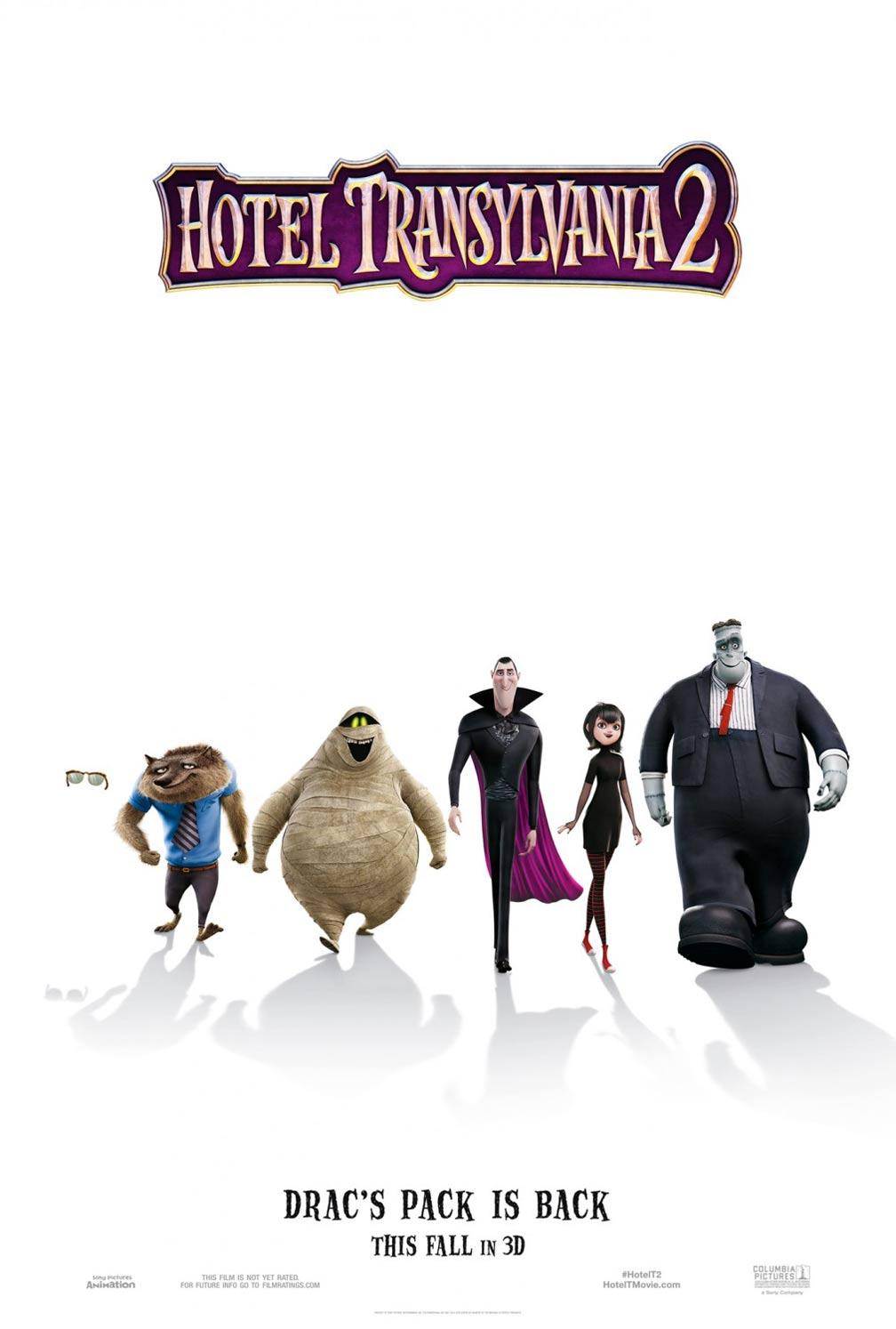 Hotel Transylvania 2 Poster #1