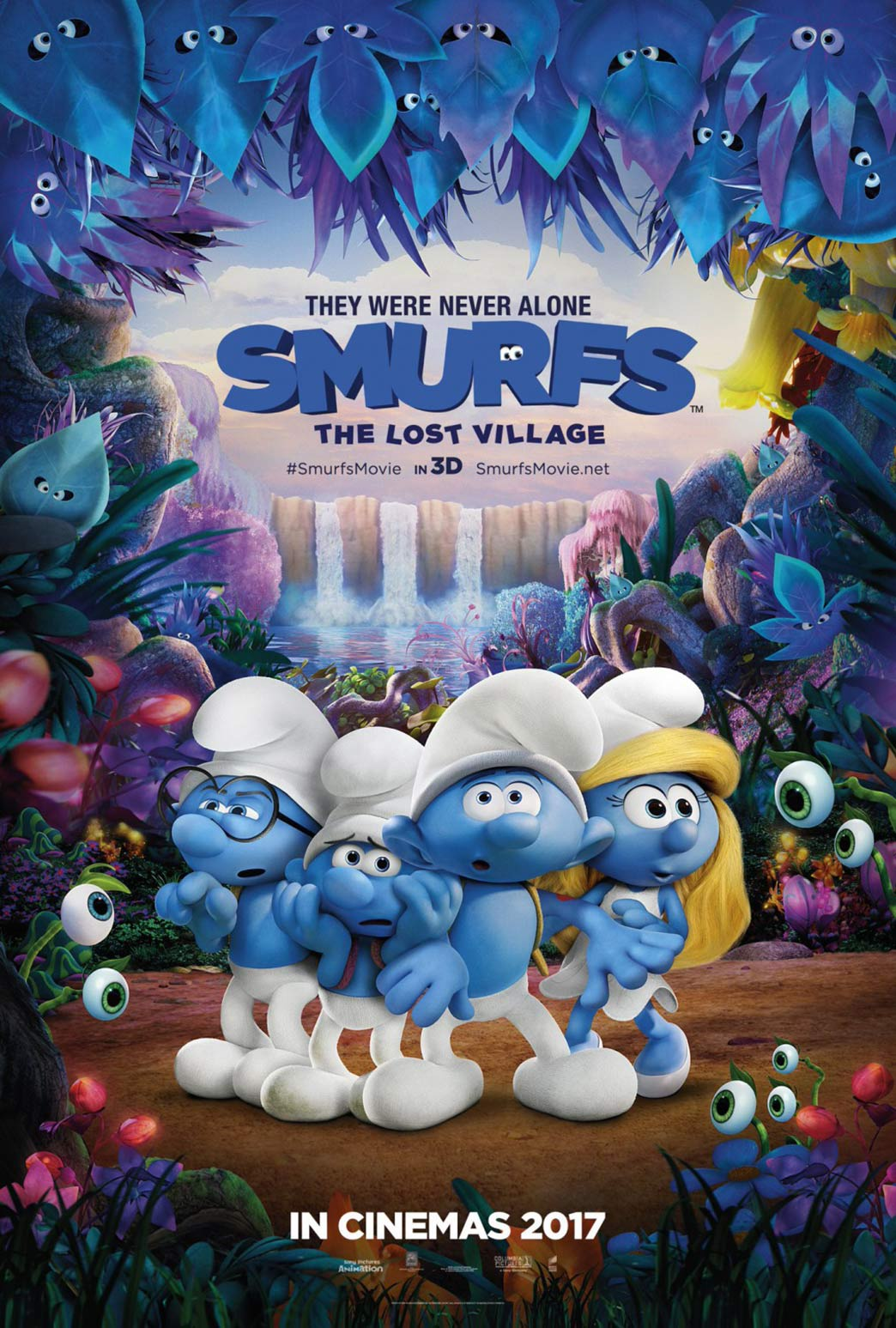 Smurfs: The Lost Village Poster #2