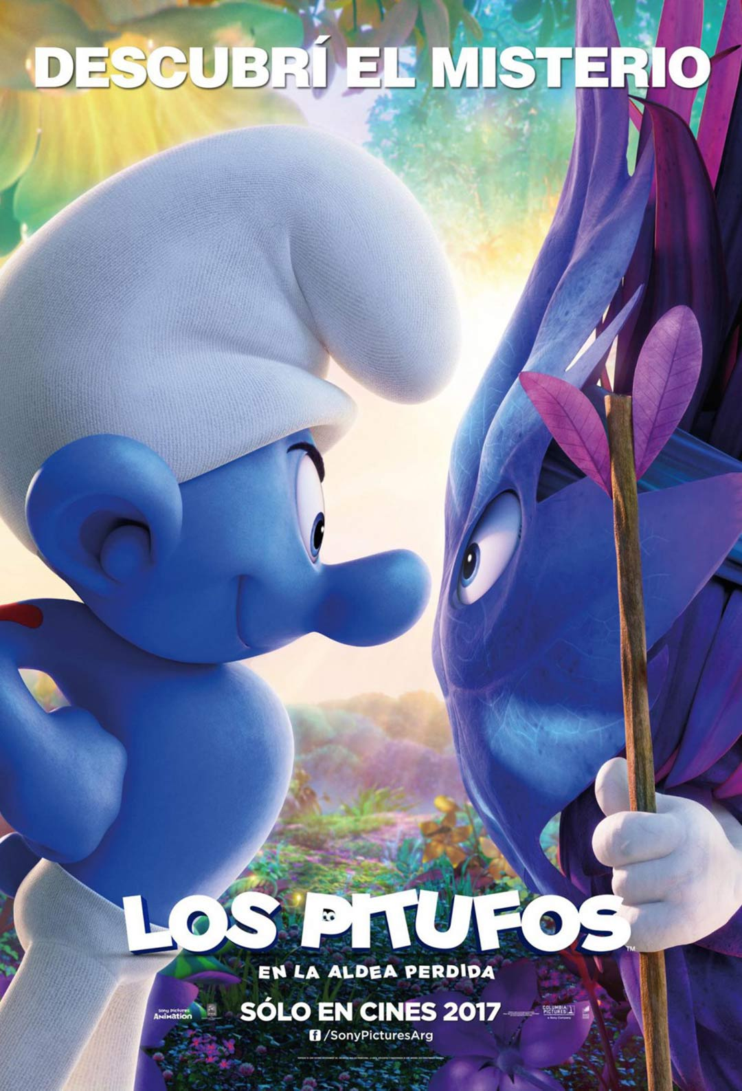 Smurfs: The Lost Village Poster #4