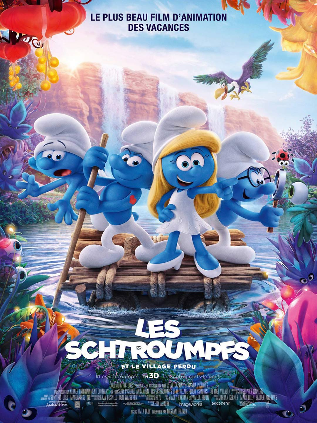 Smurfs: The Lost Village Poster #7