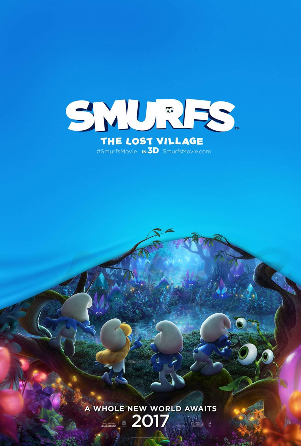 Smurfs: The Lost Village Poster #1