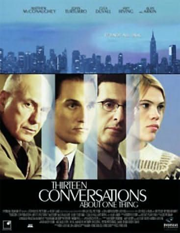 Thirteen Conversations About One Thing Poster #1