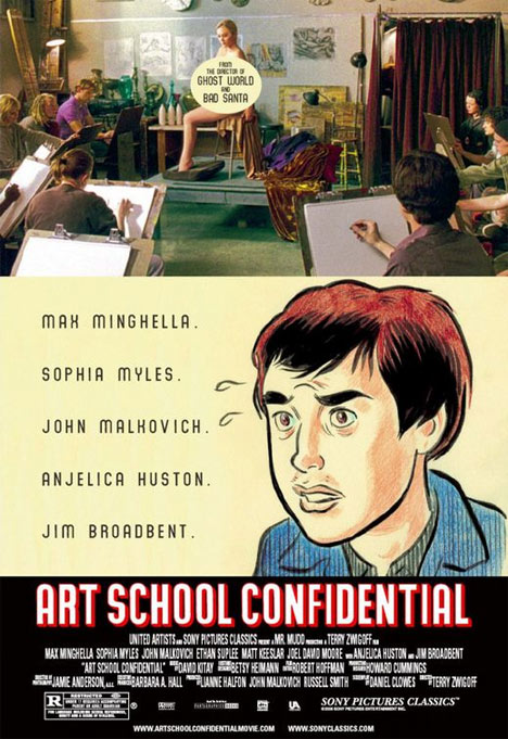 Art School Confidential Poster #1