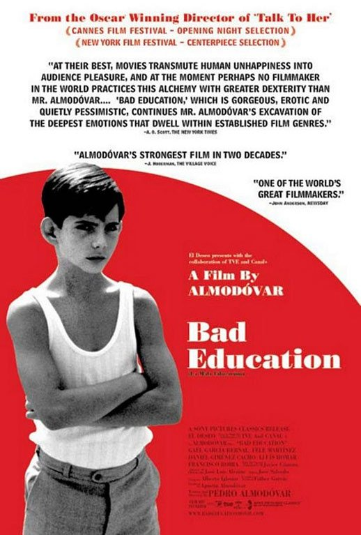 Bad Education (Mala educación, La) Poster #1