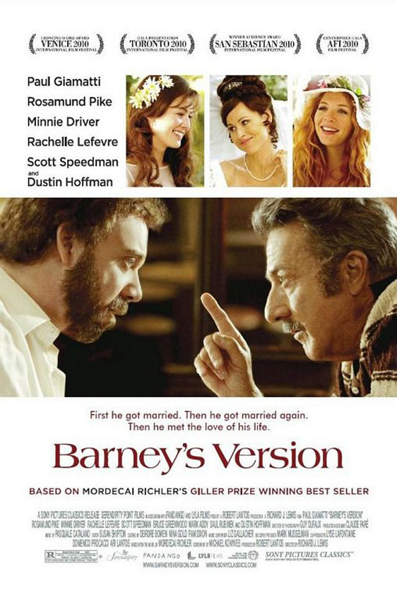 Barney's Version Poster #2