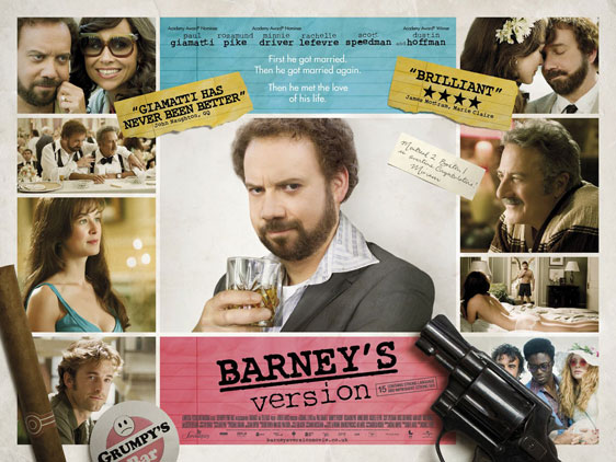 Barney's Version Poster #3