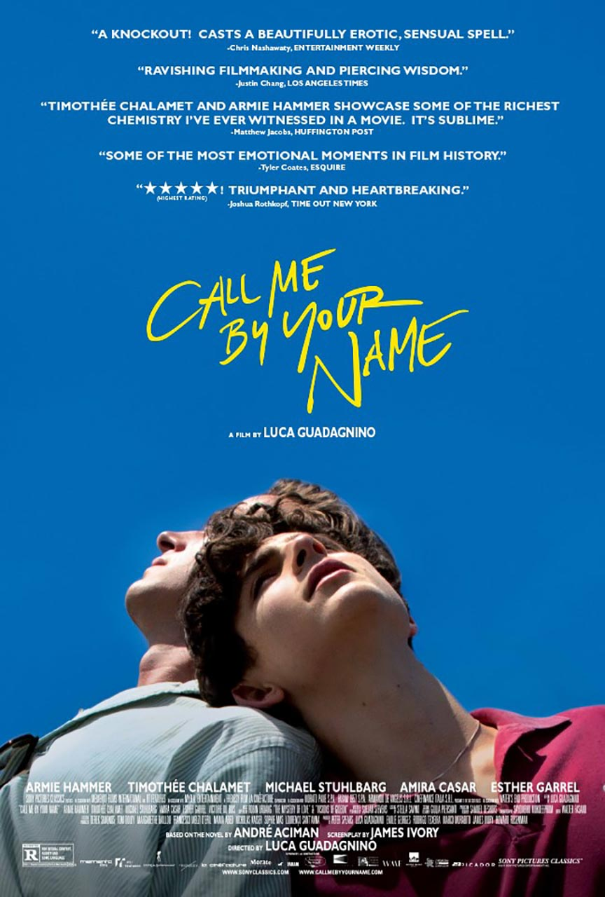 Call Me by Your Name Poster #1