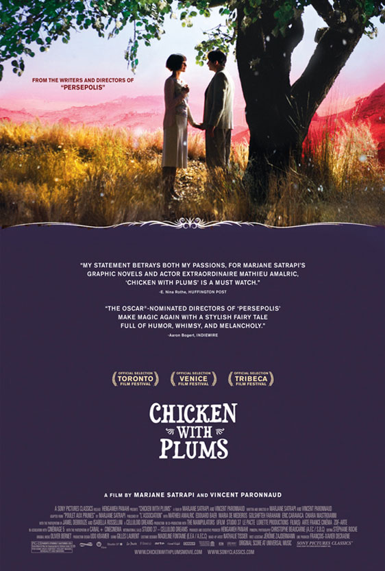 Chicken with Plums (Poulet aux prunes) Poster #1
