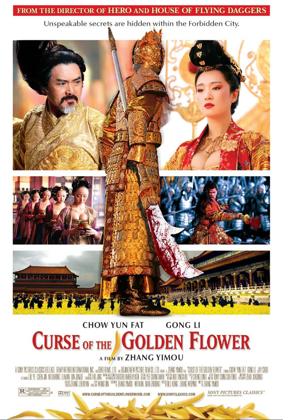 Curse of the Golden Flower Poster #1