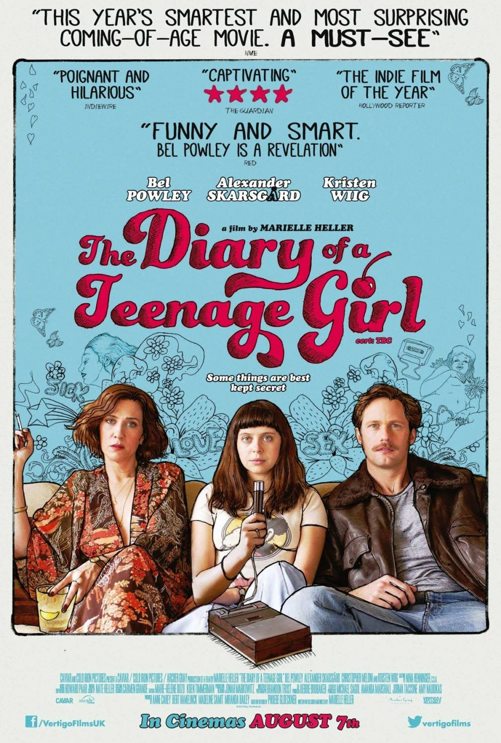 The Diary of a Teenage Girl Poster #2