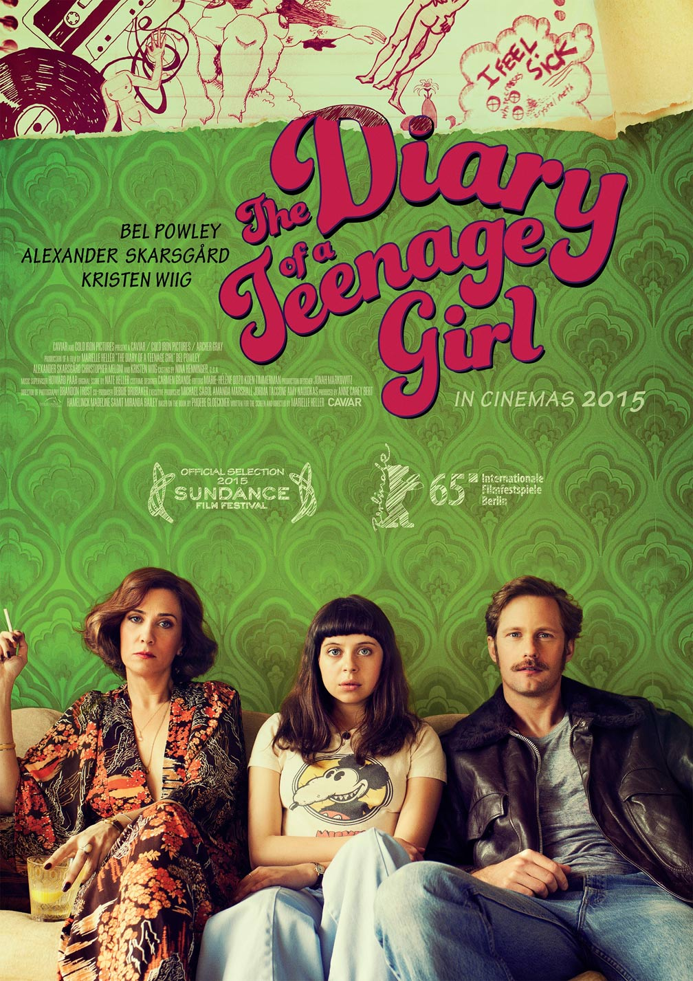 The Diary of a Teenage Girl Poster #3