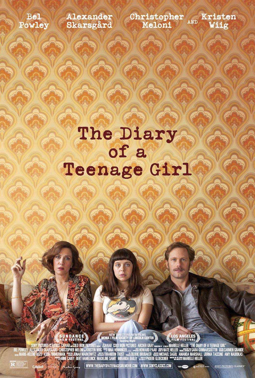 The Diary of a Teenage Girl Poster #1