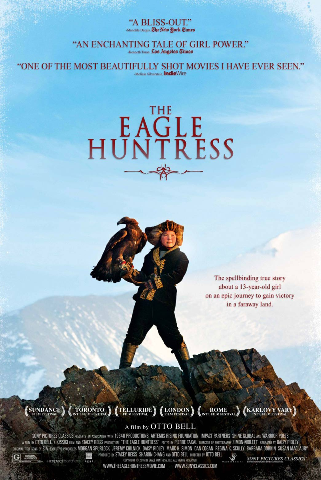 The Eagle Huntress Poster #1