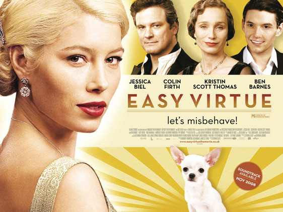 Easy Virtue Poster #2