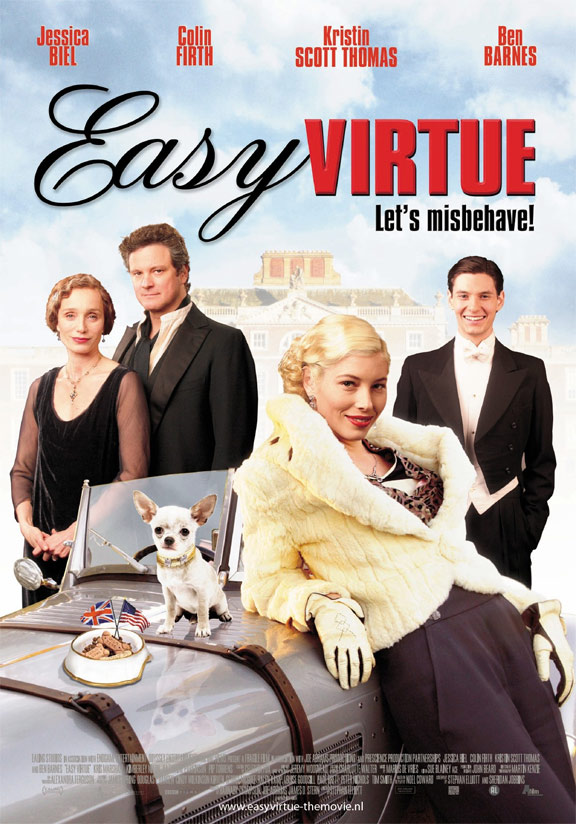 Easy Virtue Poster #4