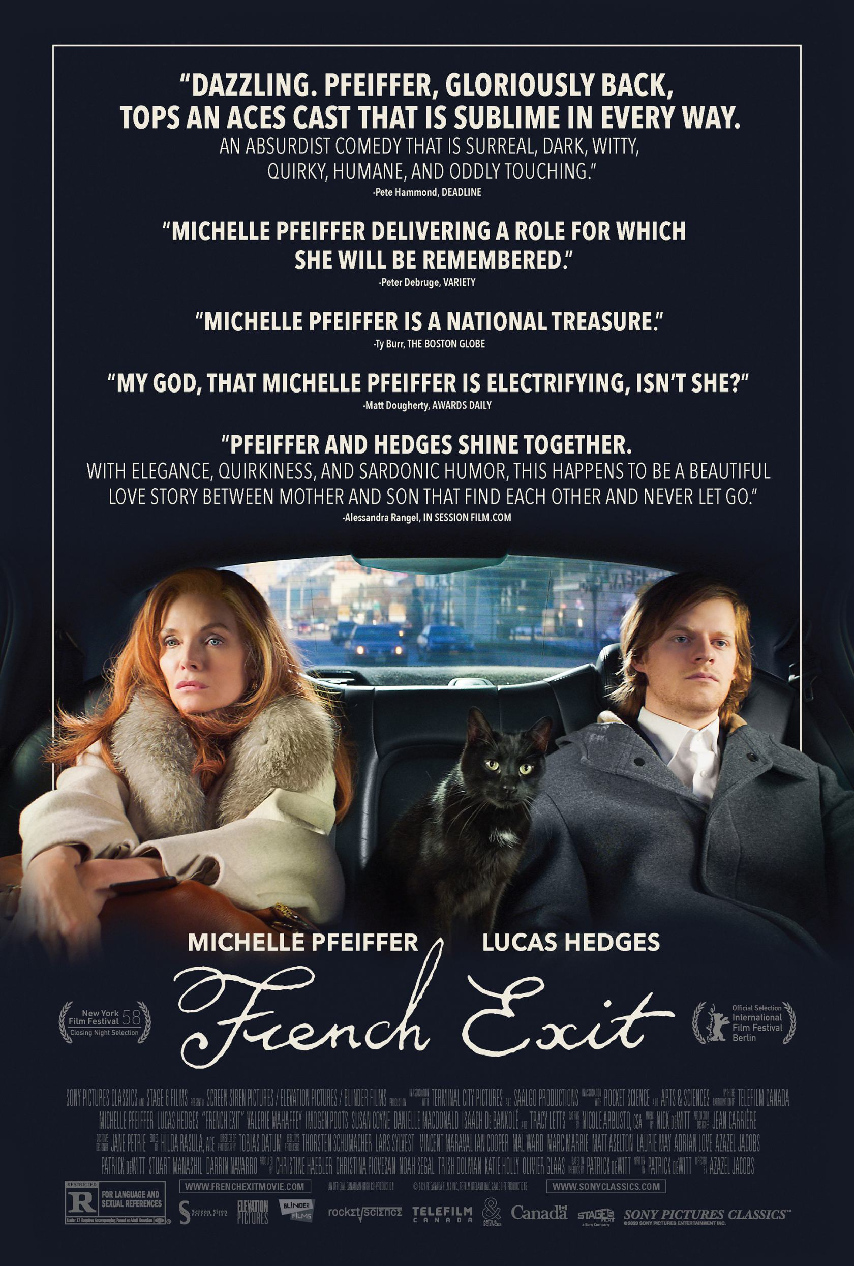 French Exit Poster #1