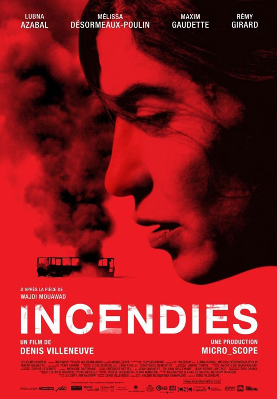 Incendies Poster #1