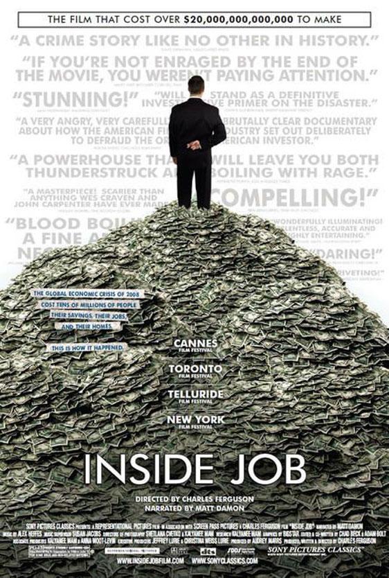 Inside Job Poster #1