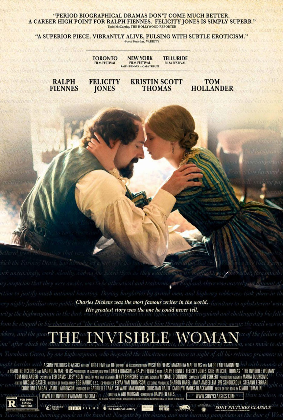 The Invisible Woman Poster #1