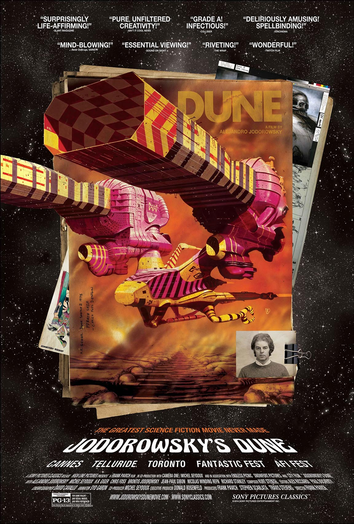 Jodorowsky's Dune Poster #2