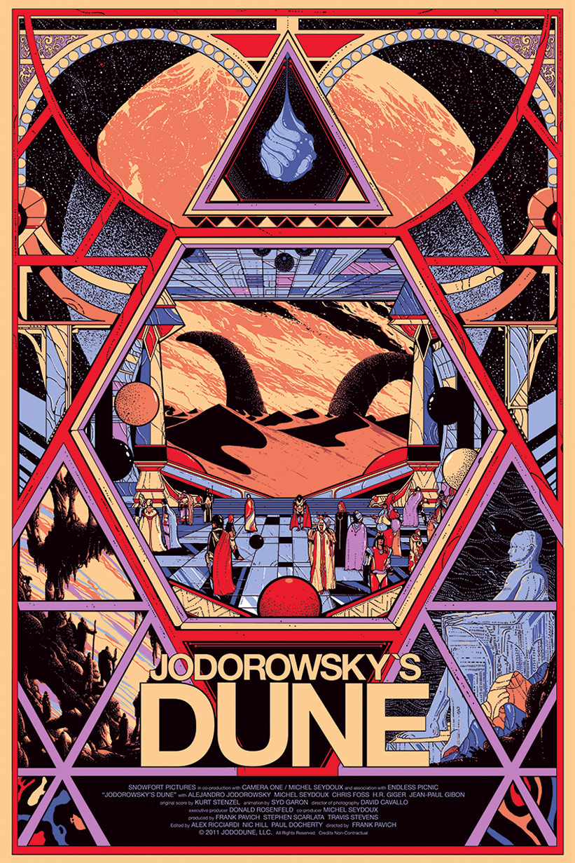 Jodorowsky's Dune Poster #1