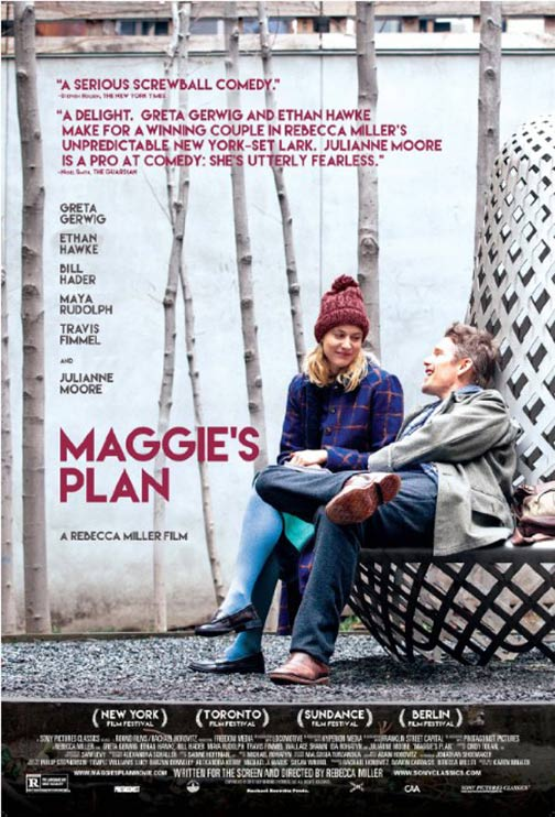 Maggie's Plan Poster #1