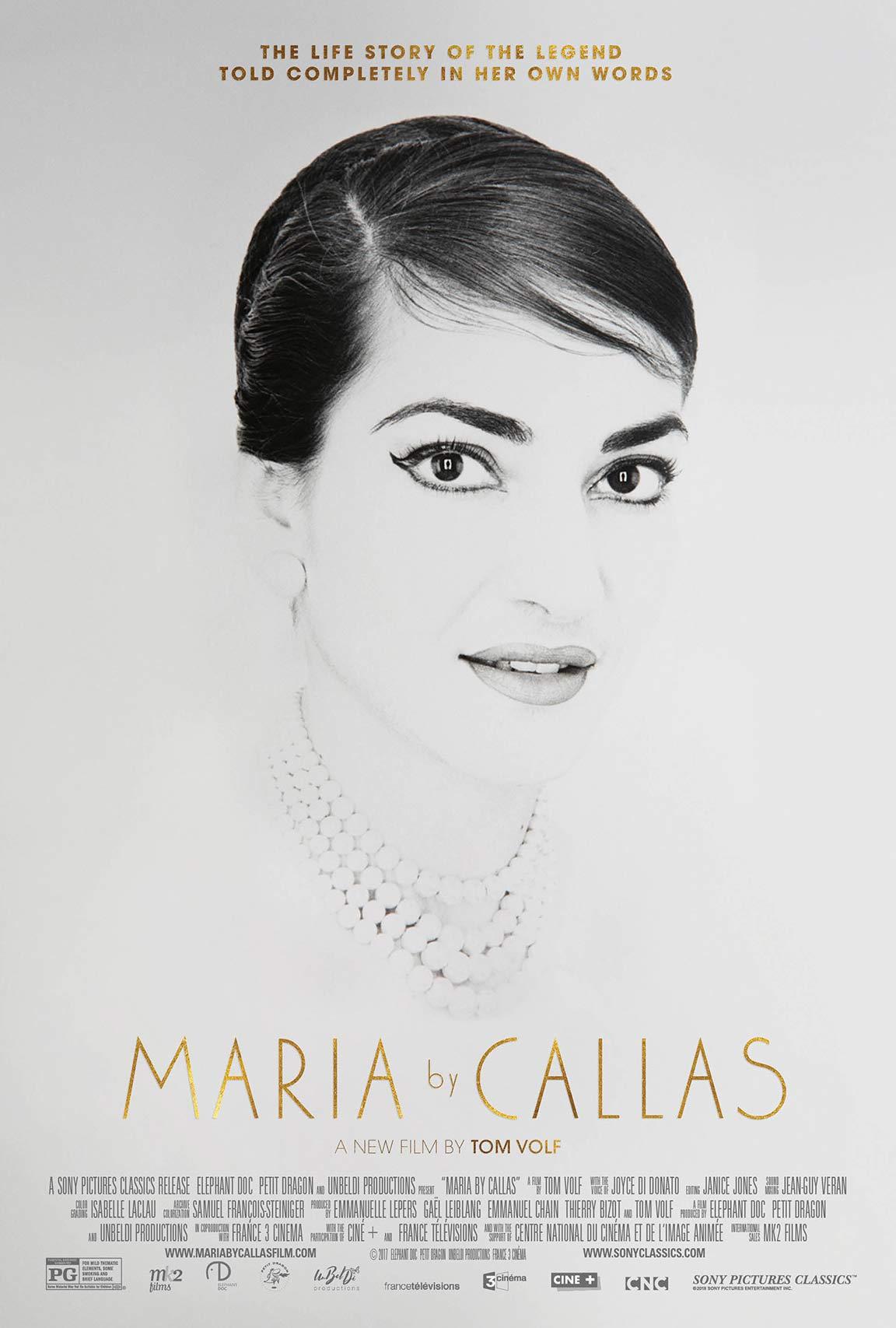Maria by Callas Poster #1