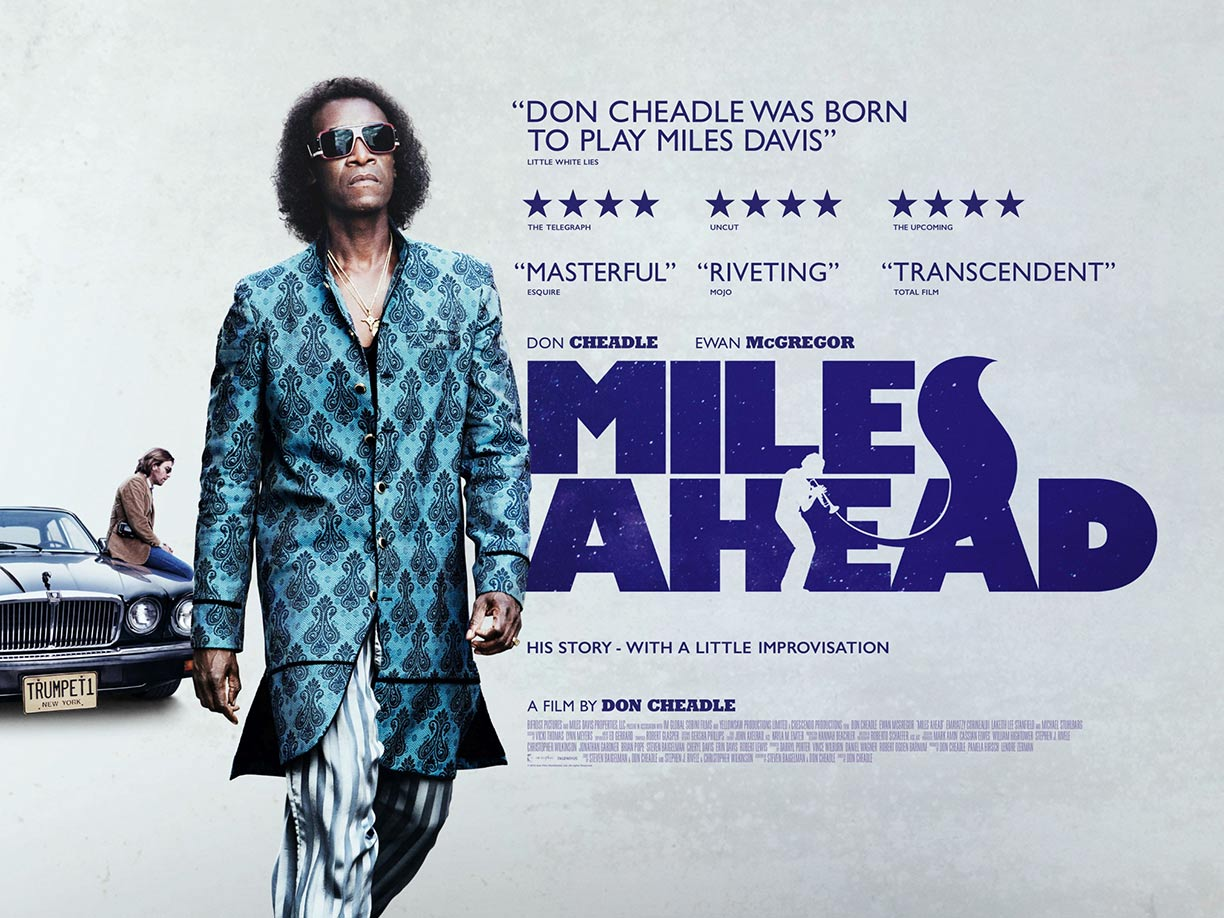 Miles Ahead Poster #2
