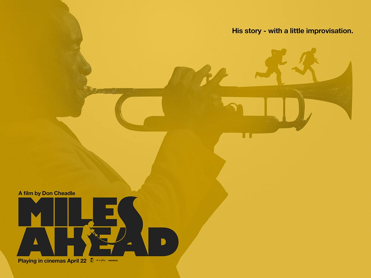 Miles Ahead Poster #3