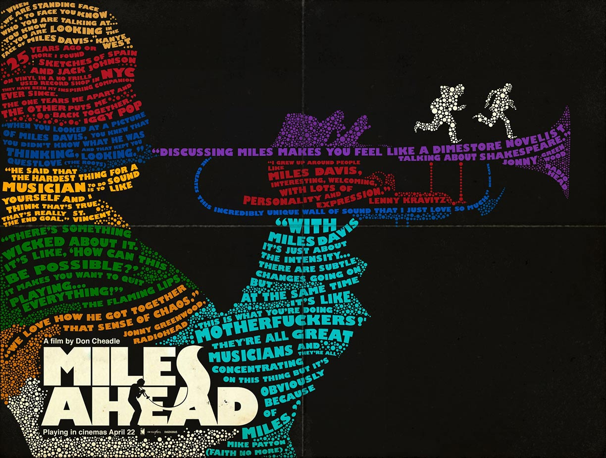 Miles Ahead Poster #6