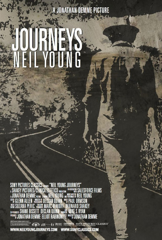 Neil Young Journeys Poster #1