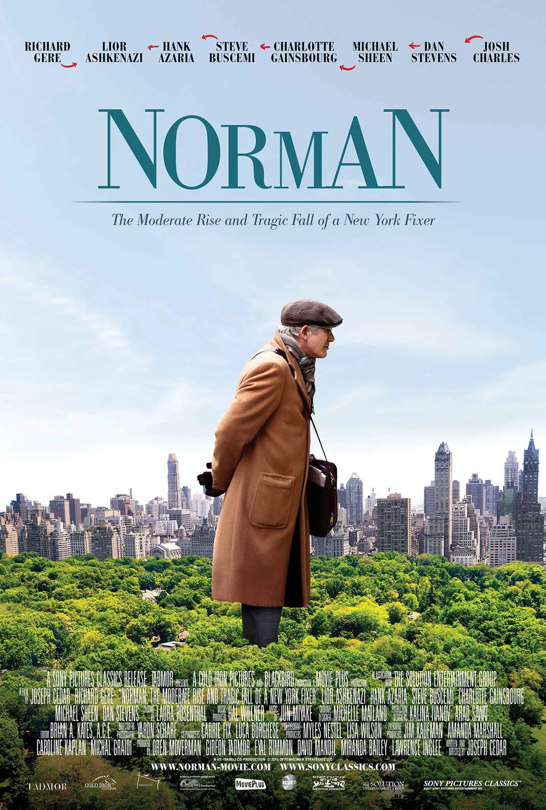 Norman: The Moderate Rise and Tragic Fall of a New York Fixer Poster #1