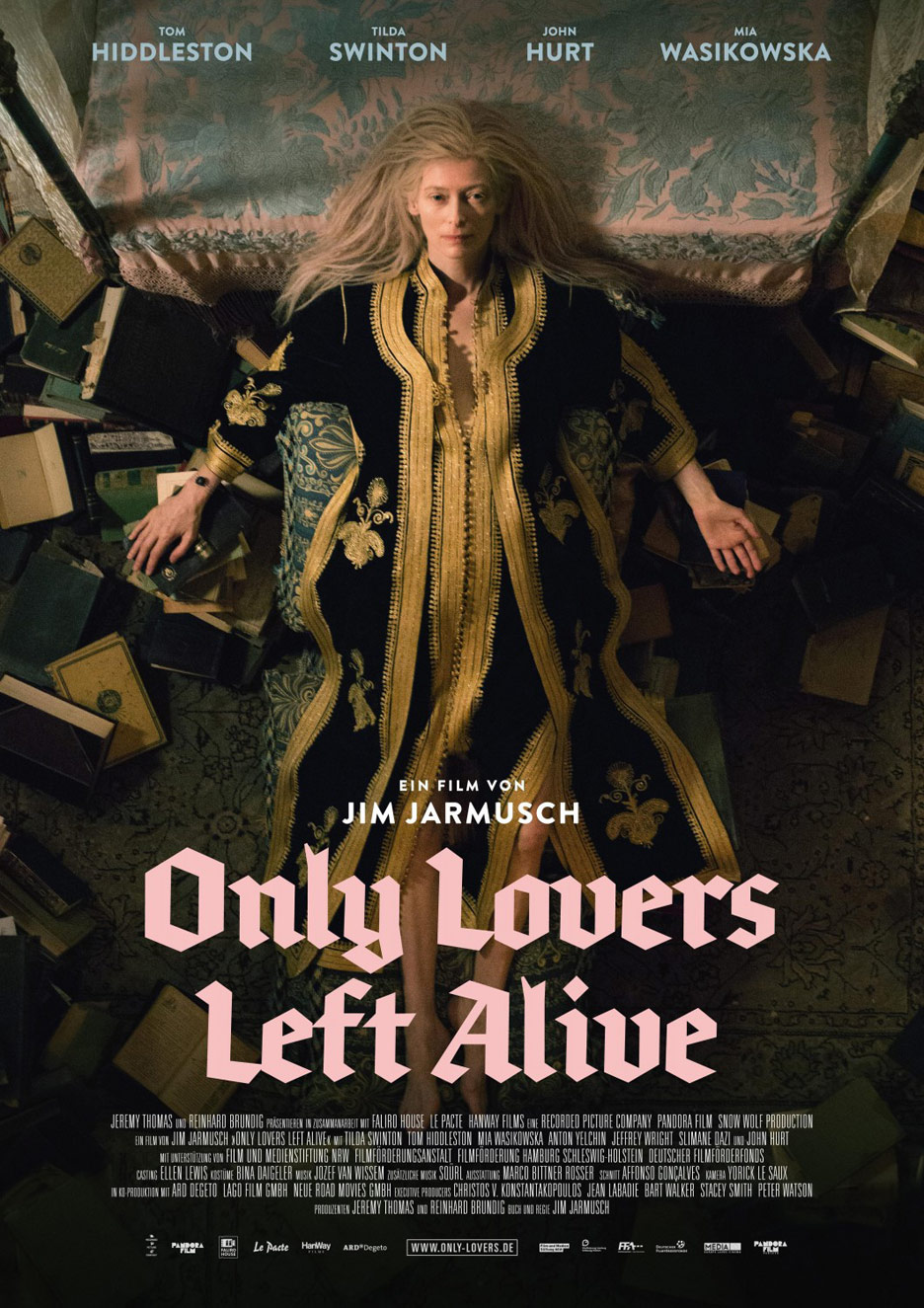 Only Lovers Left Alive Poster #3