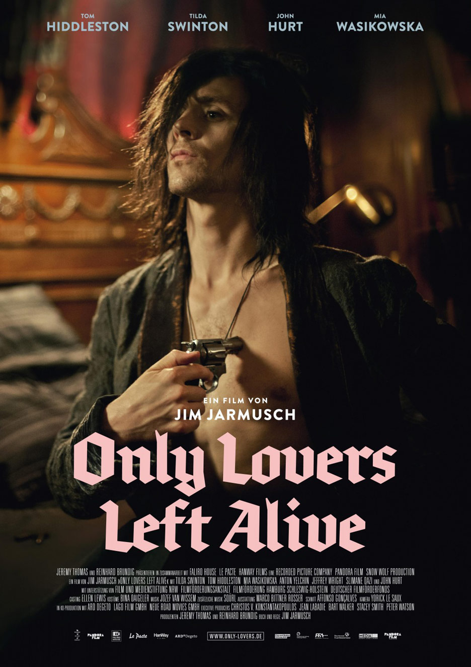 Only Lovers Left Alive Poster #4