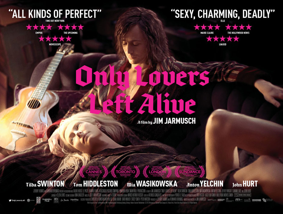 Only Lovers Left Alive Poster #6