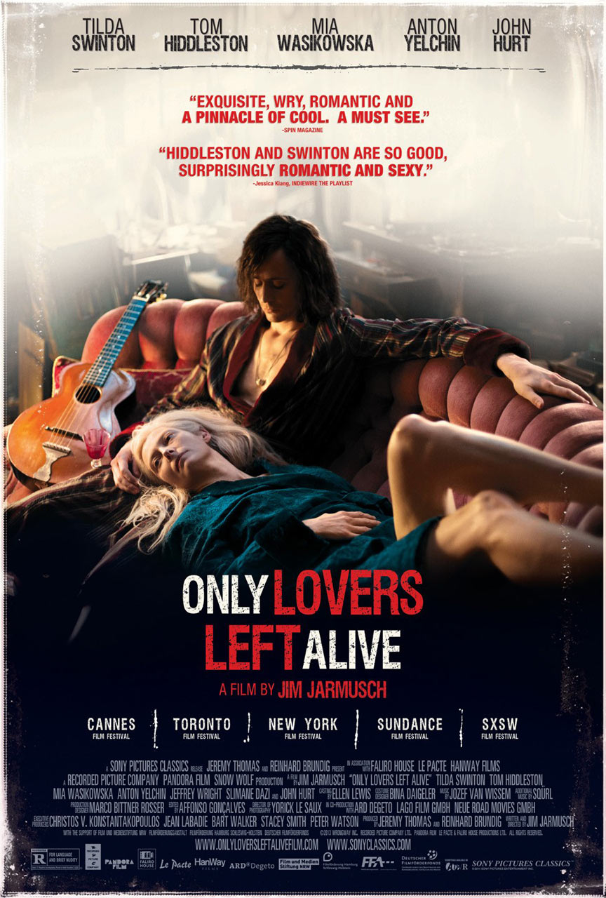 Only Lovers Left Alive Poster #7