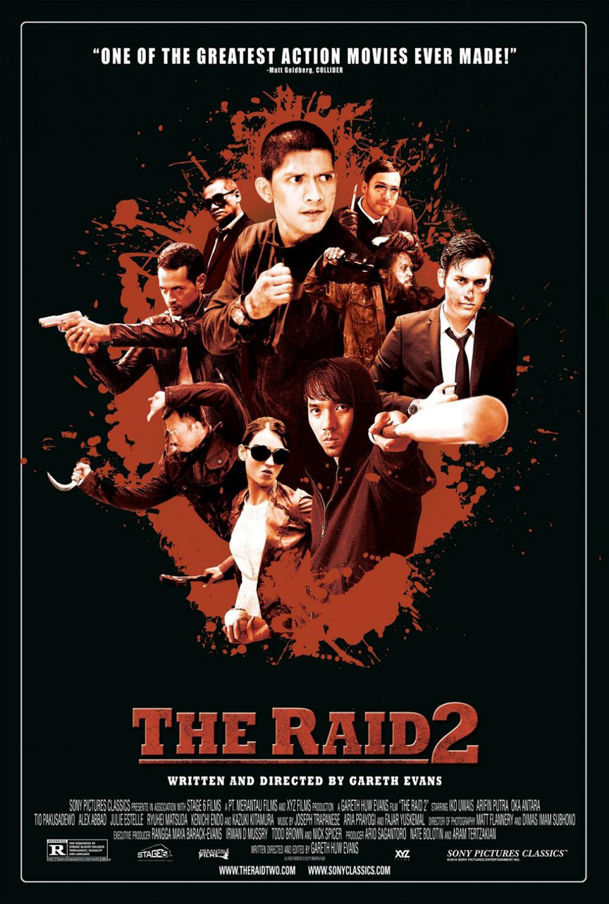 The Raid 2: Berandal Poster #3