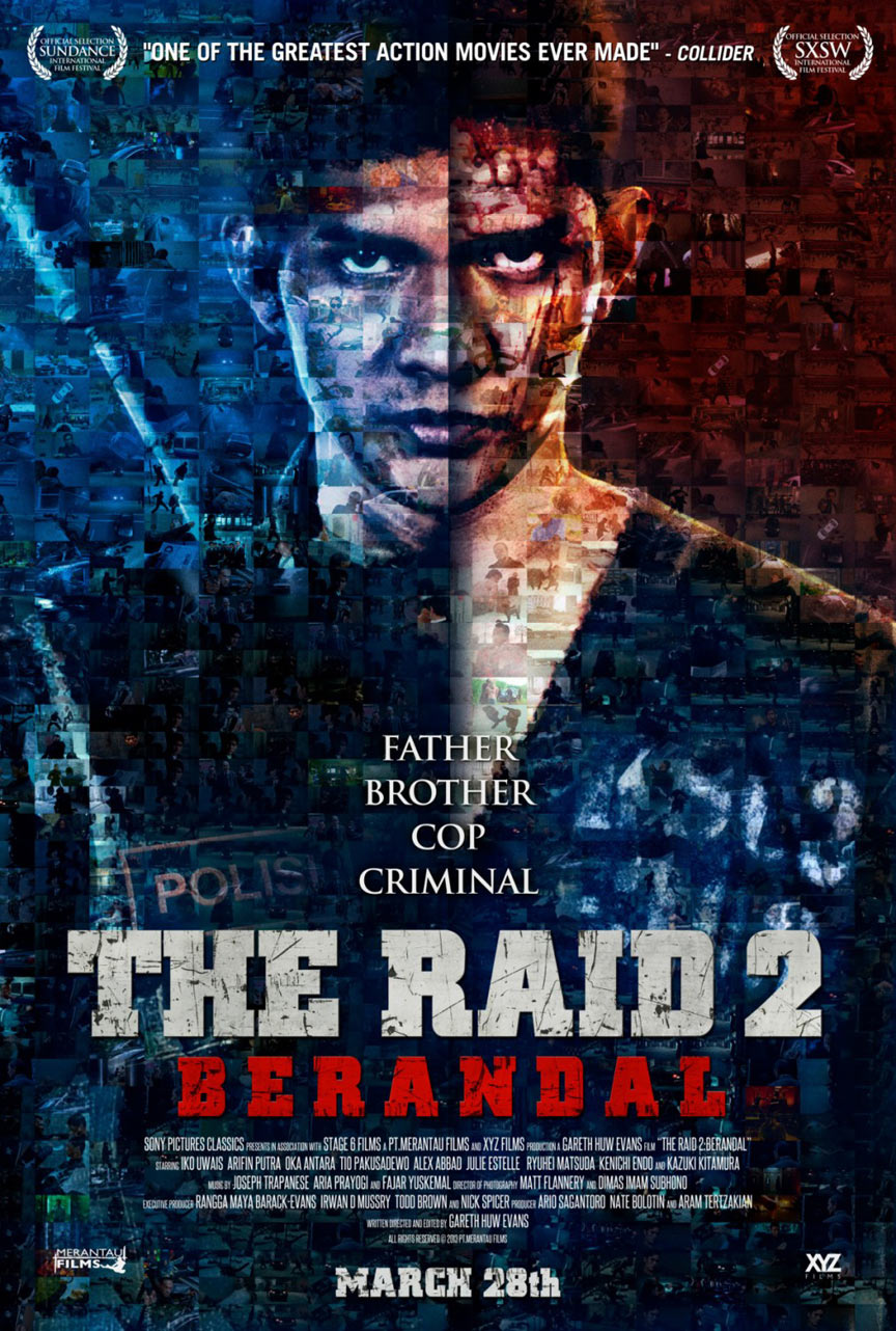 The Raid 2: Berandal Poster #4