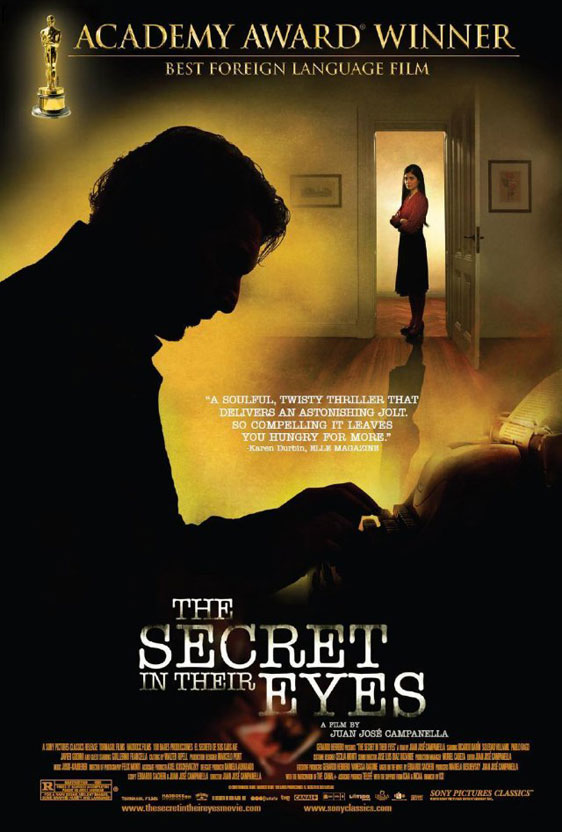 The Secret in their Eyes (El secreto de sus ojos) Poster #1