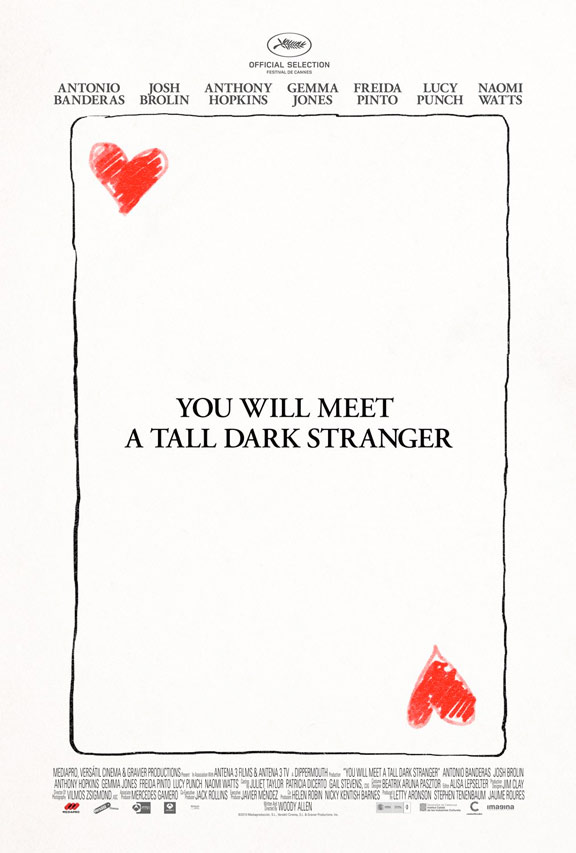 You Will Meet a Tall Dark Stranger Poster #1