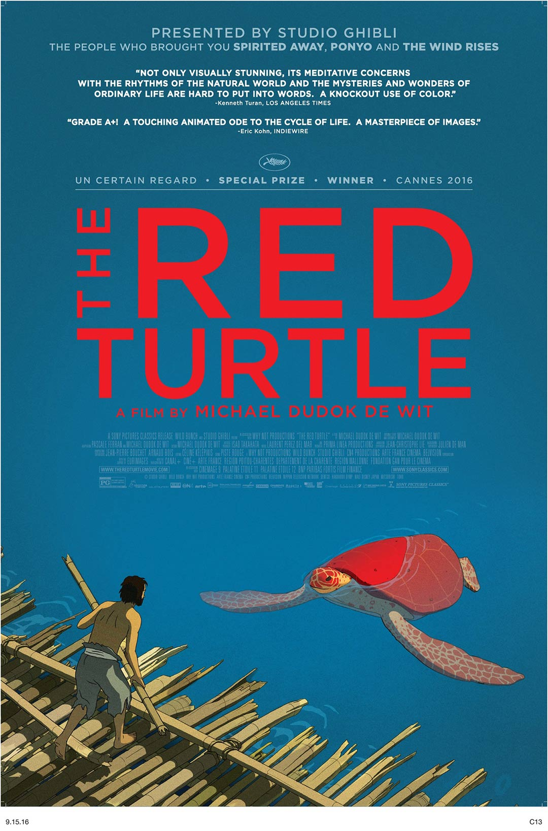 The Red Turtle Poster #1