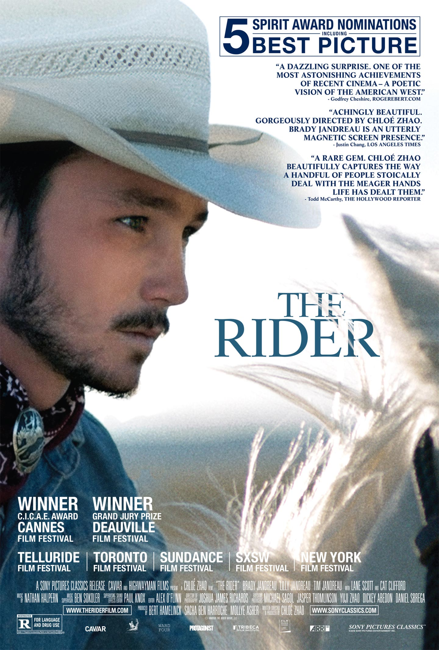 the rider  2018  poster  1