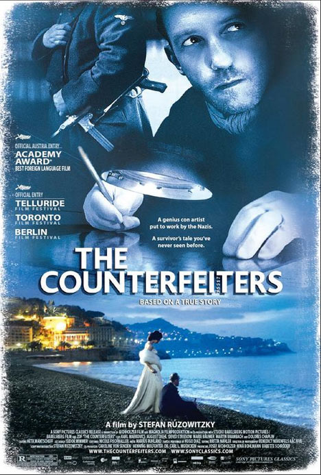 The Counterfeiters Poster #1
