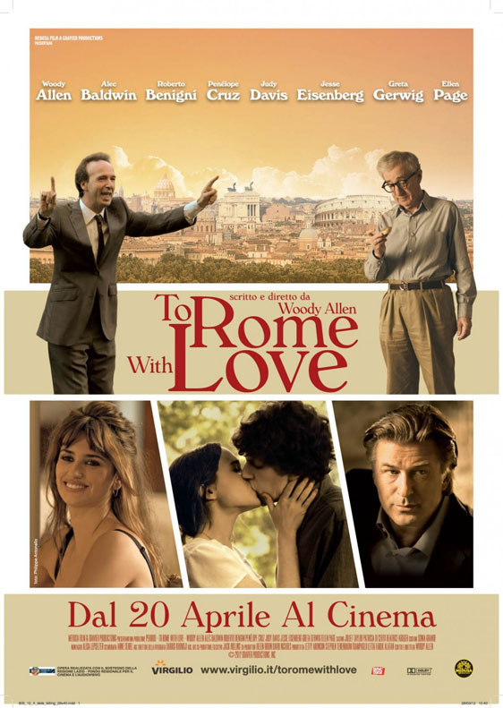To Rome with Love Poster #3